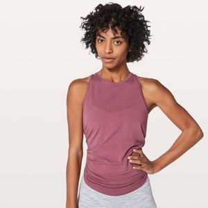 Lululemon All Tied Up Tank Merlot Size 10